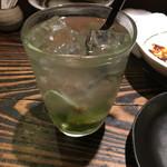満月堂 - おすすめの緑茶ハイ
