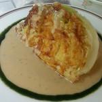 洋食屋ザンガラ - キャベツのステーキ