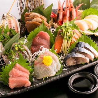 《三浦漁港直送》鮮度にとことんこだわった、朝採れ鮮魚を使用!