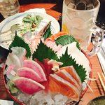 初つぼみ - hatsutsubomi:刺身5種盛り
