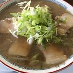 57317685 - ( ̄Д ̄)ノチャーシュー麺¥700