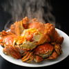 Reikaseirankyo - 料理写真:上海蟹の姿蒸し