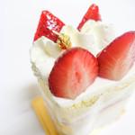 グラマシーニューヨーク - イチゴケーキ