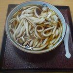 大むら - 料理写真:かけうどん(2010/11/14撮影)