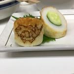 田中酒店 - 鯛の焼き印が!