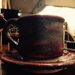 菩提樹 - ドリンク写真:素敵なカップに入った珈琲