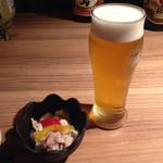 57321689 - ビール&お通し
