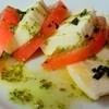 チーズとトマトのカプレーゼ