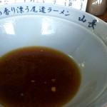 尾道ラーメン山長 - 山長特製ぽん酢割り