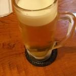 酒房 たちばな - 生ビール550円