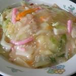 中華料理・ちゃんぽん 華豊 - 皿うどん太麺ZOOM