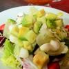 モッツァレラとアボカドのサラダ