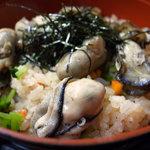 磯料理 喜良久亭 - 牡蠣めし