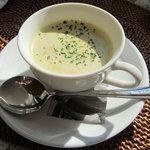 5733272 - かぼちゃとラッキョウのスープ