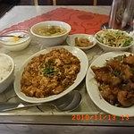 5733402 - 油淋鶏+麻婆豆腐(780円)