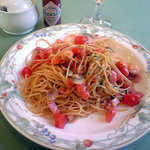 洋食厨房 KAJIMOTO - 魚介のトマトソース