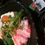 大阪食酒 リエカオ - なにわポークの塩麹鍋