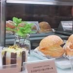 イタリアン・トマト カフェ - 残念ながらシュークリームはサンプル品、見た目ではわからなかった
