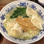 爽爽 - ワンタン麺(塩)(700円)