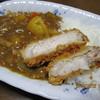 さぼてん - 料理写真:「チキンカレーと「三元麦豚ロースかつの合体」