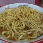 ラーメン二郎 - 標準二郎の小と大の中間麺量(2016年9月30日)