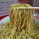 ラーメン二郎 - 微ズル系のガンガン手繰れる麺(2016年9月30日)