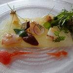 ディープブルー - 料理写真:セーイカ、ミーバイ