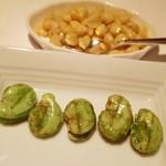 レストラン 代官山小川軒 - コーンと豆