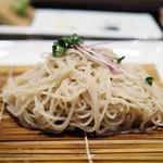 57332761 - 海老と野菜の天せいろ                       蕎麦部分