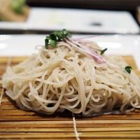 麓屋-海老と野菜の天せいろ 蕎麦部分