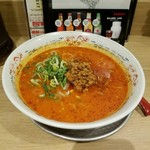 ヌードルダイニング 道麺 - 「激辛坦々麺」