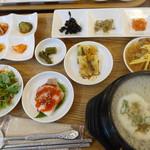 キムチのミズノ - サムゲタンスープ定食