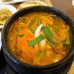 キムチのミズノ - 豆腐チゲ