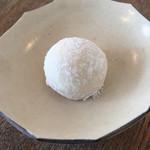 ハーグカフェ - ドリンクについてきたクッキー