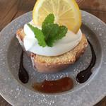ハーグカフェ - レモンのパウンドケーキ