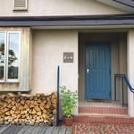 57336629 - 店舗入り口…ブルーのドアが印象的です♪