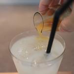 餅匠 しづく - 発酵水と有機ジンジャーを使用した しずく特製ジンジャーエール☆