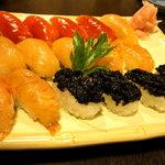 八丈島郷土料理 梁山泊 - 島寿司