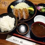 とんかつ稲 - 「特選ひれかつ定食」  2,160円