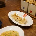 久留米ラーメン清陽軒 - 餃子