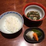 馬関 - 鯛茶漬け
