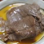 牛銀本店 - ぷっくりと膨らんだ肉