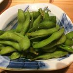 57350321 - 塩茹で枝豆