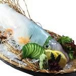 和楽心 - 料理写真:泳ぎイカ