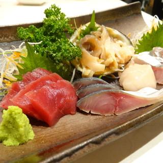 市場直送の鮮魚料理