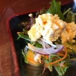 チャイナ食堂 九龍 - 玉子野菜サラダ