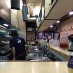 麺や輝 - カウンターから٩(๑❛ᴗ.❛๑)۶