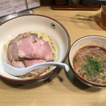 麺や輝 - チャーシューつけ麺ヽ(^o、^)ノ¥980円