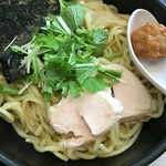 麺匠 桂邸 - 濃厚鶏つけ麺☆醤油 麺大