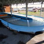 活イカ備蓄センター - 烏賊様レースに使用されるコース